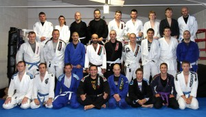 BJJ Team after a Seminar with Walter Broca Jr.