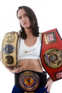 Thaiboxer and Personal Trainer Ruth Ashdown