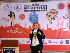 Crawley Teenager Liam Lambourne of Crawley Martial Arts Academy