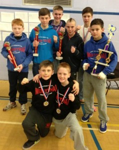 The Crawley Martial Arts Academy's Medal Winners in Manchester last weekend