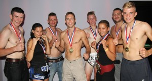 The Lumpini Fight Team based at the Crawley Martial Arts Academy