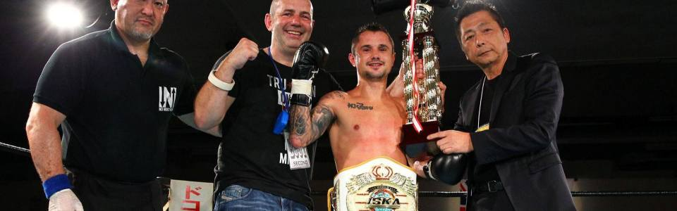 Winning Muay Thai World Titles in Japan