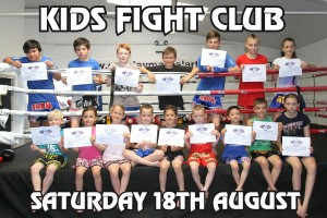 Kid fight club and sparring competition