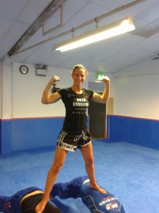 Ruth Ashdown, female personal trainer and professional fighter