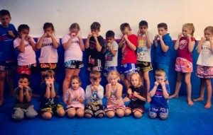 Kids Muay Thai Kickboxing