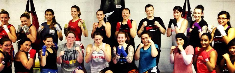 Ladies Muay Thai (Kickboxing) Classes