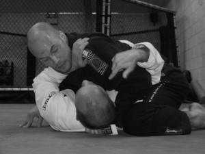 Instructor Keith McKenzie demonstrating