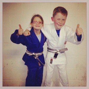 Kids Brazilian Jiu Jitsu Grading