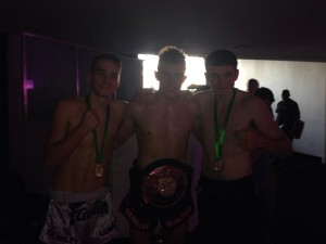 Luke Hill, Oscar Cutter and Paul Clarke winning!