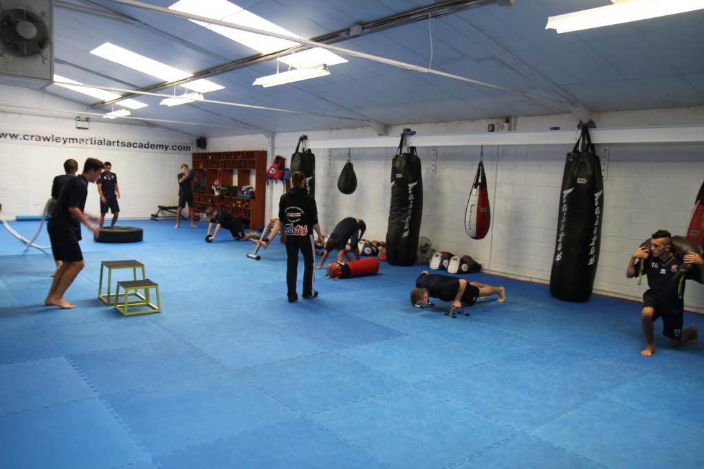Taking a local football team through pre-season fitness training