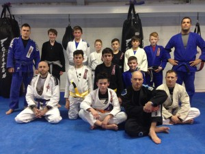Kids Brazilian Jiu Jitsu Grading Success