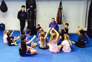 Kid Muay Thai at the Crawley Martial Arts Academy