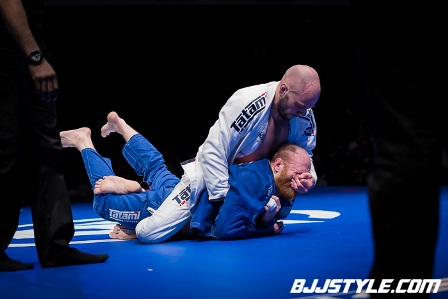 BJJ Black Belt Keith McKenzie winning at the Polaris Competition